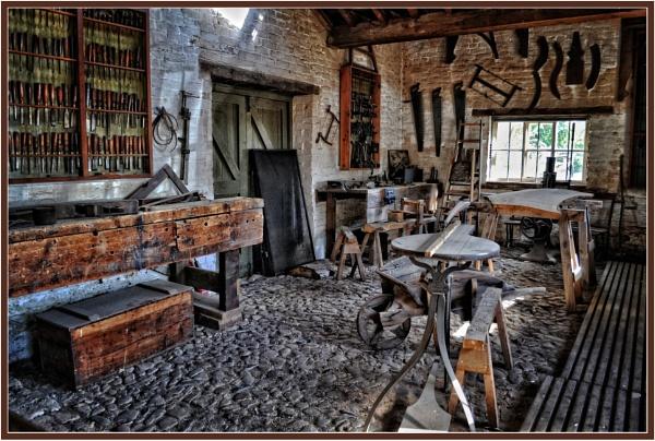 Carpenter\'s Workshop at Erddig by PhilT2
