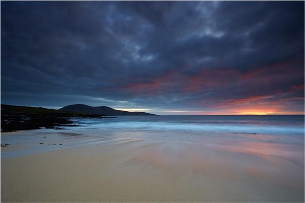 Island Sunset by jeanie