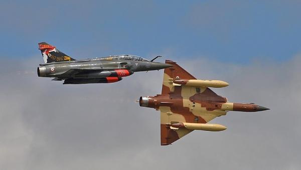 Couteau Delta Dassault Mirage 2000D by nealie