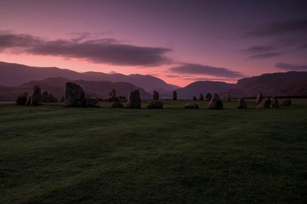 Sunrise at Castle Rigg Stone Circle by RPilon63