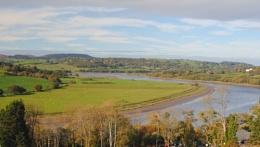 Conwy Valley from Bodnant Garden 20th Oct