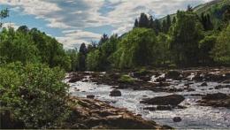 River Dochart at Killin.