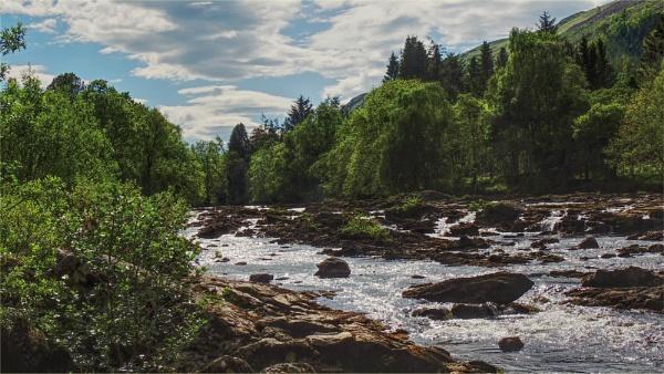 River Dochart at Killin. by Tooma