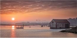 Sunrise In Norfolk