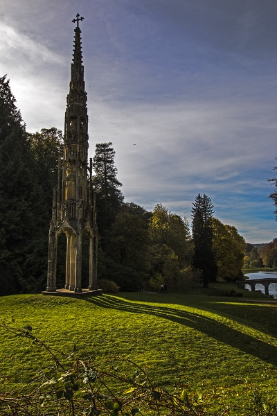 Shadows at Stourhead by Janetdinah