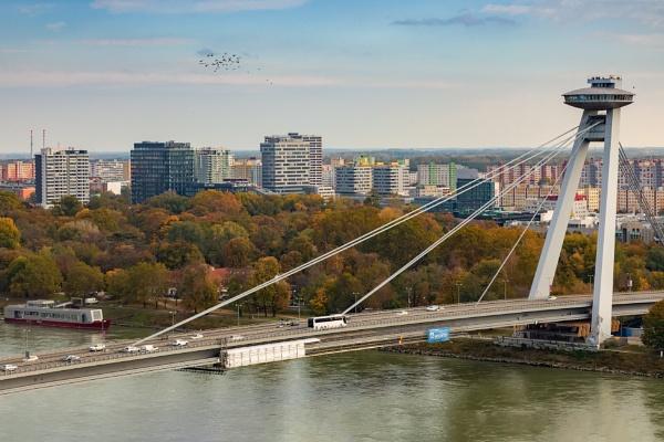 The UFO Tower in Bratislava by DBoardman