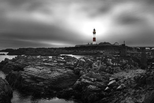 Boddam Lighthouse by AndrewAlbert