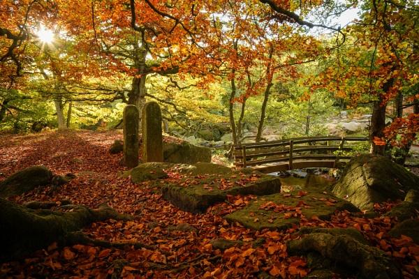 Padley Bridge Peak District Derbyshire by RoyChilds