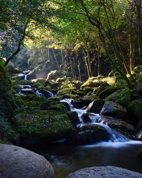Glen lyn gorge Devon by KazG
