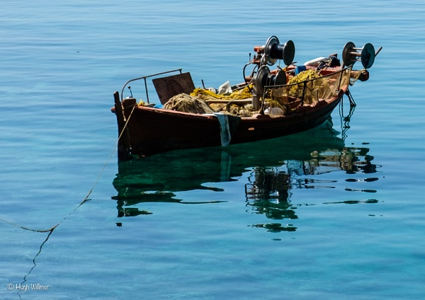 """Fishing Boat\"" by Willmer"