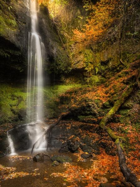 Waterfall Gleniffer Braes by Mark_Callander