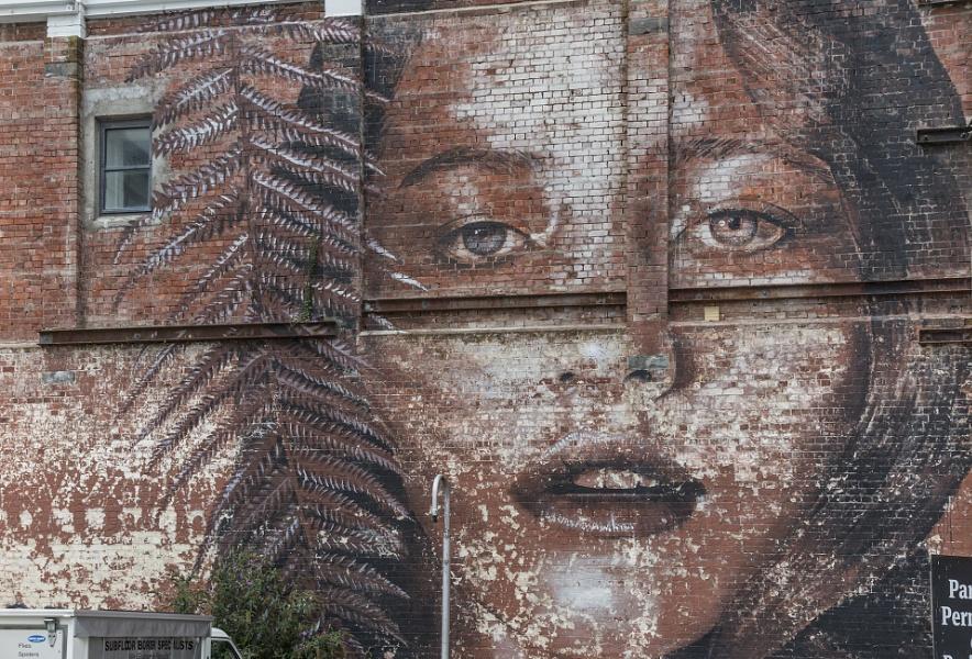 Wall Art, Christchurch NZ
