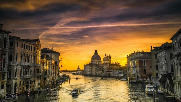 Accademia Bridge Sunrise by Pete2453