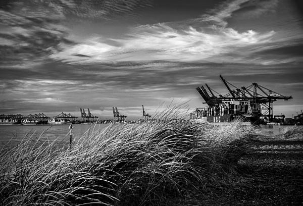 Felixstowe Docks by vivdy