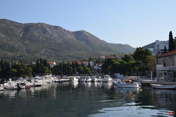 Cavtat harbour by voyger1010