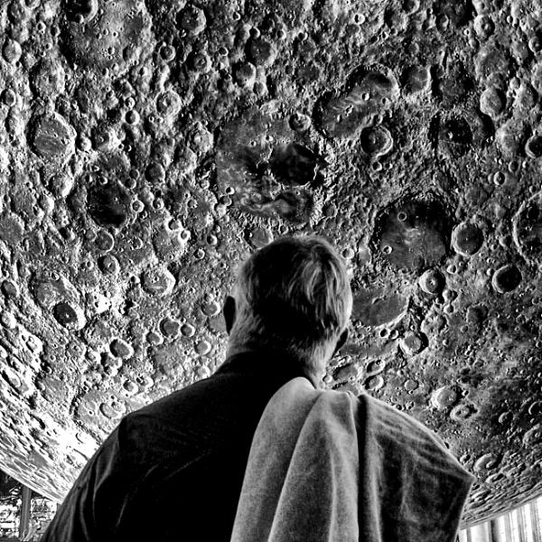 Moon Gazing Man