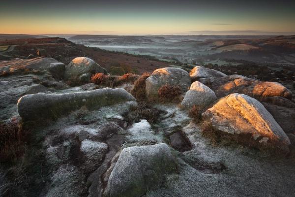 Curbar Frost by Trevhas
