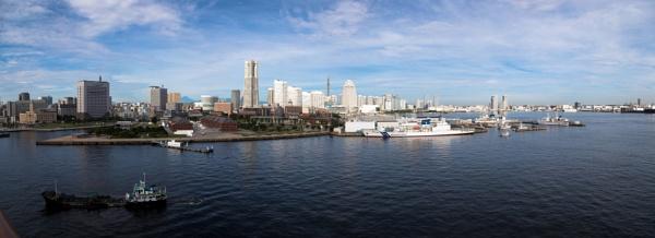 Yokohama Harbour by Trekmaster01