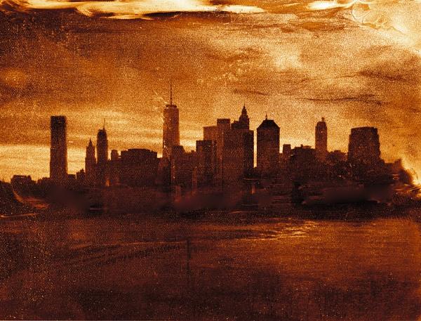 NYC Manhattan view by mtuyb