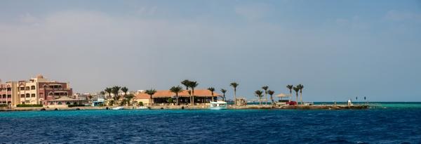 Red sea coast near Hurghada by rninov