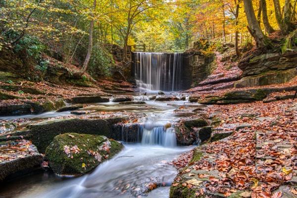 Autumn at Nant Mill by Ingymon