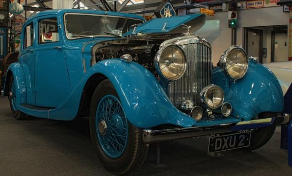 1937 Bentley 4 1/4 Litre by canoncarol