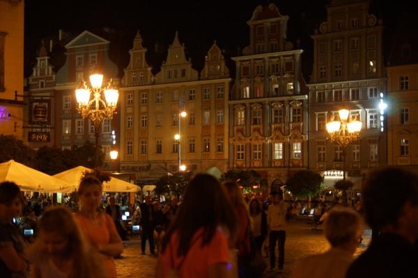 Wroclaw Saturday night by PeterAS