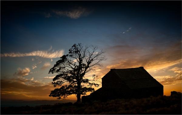 Cottage on a Hill by BarryBeckham