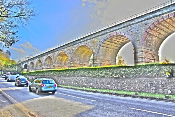 Lothianbridge Viaduct by davyskid