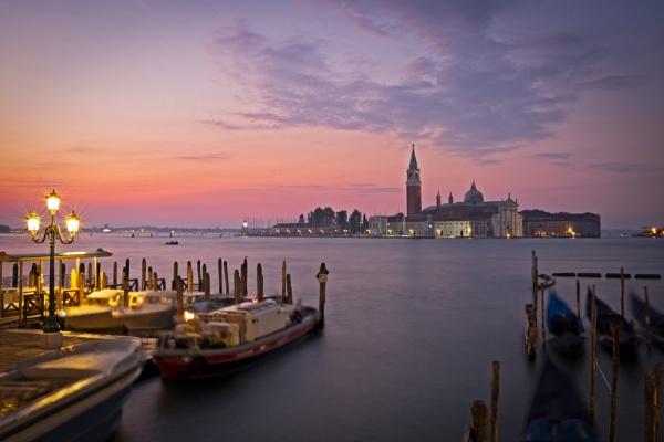 Dawn over San Giorgio Maggiore by CrustyPics
