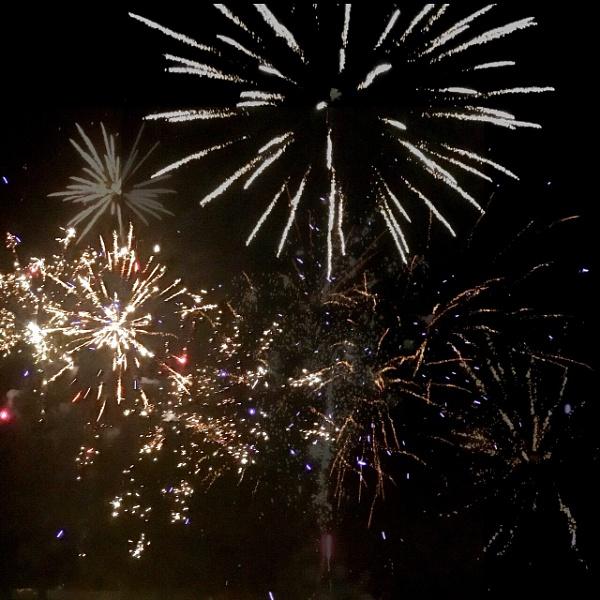 Fabulous fireworks by TeresaMcFarquhar