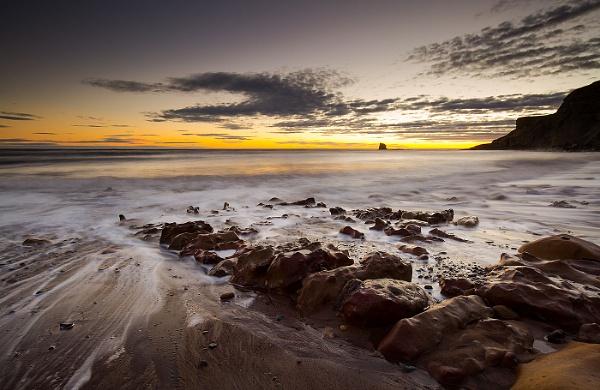 Saltwick Sunrise by martin.w