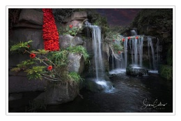 Madeira Walk Waterfall,Ramsgate.