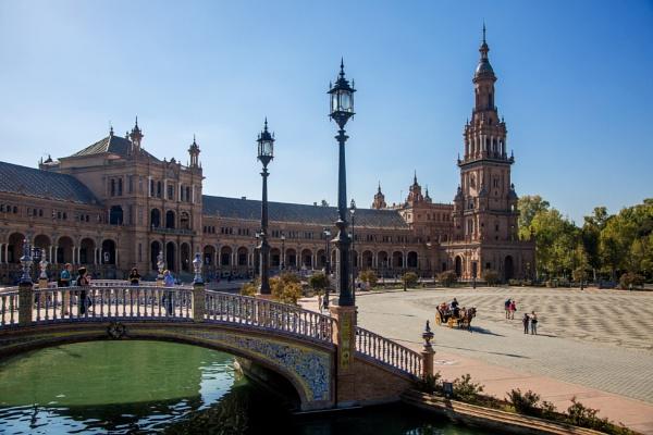 Plaze de Espana. Seville by sandwedge
