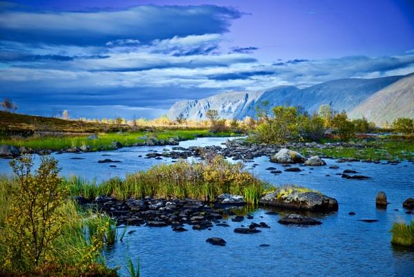 Norwegian Stream by Mannyfreedman