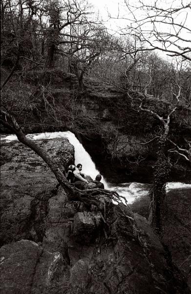 Exmoor Falls by Lontano