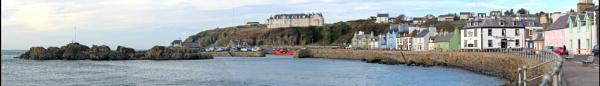 Portpatrick Panorama by Madhamish