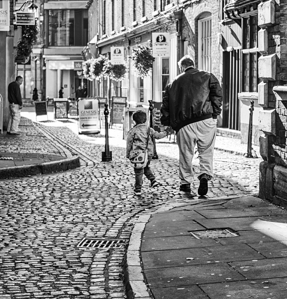 GRANDPA AND ME by hobbo