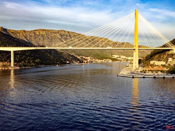 Franjo Tudman Bridge by voyger1010