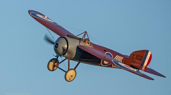 Bristol M-1C Scout WW1 Monoplane 1917 by brian17302