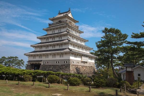 Shimabara Castle, Japan by Trekmaster01