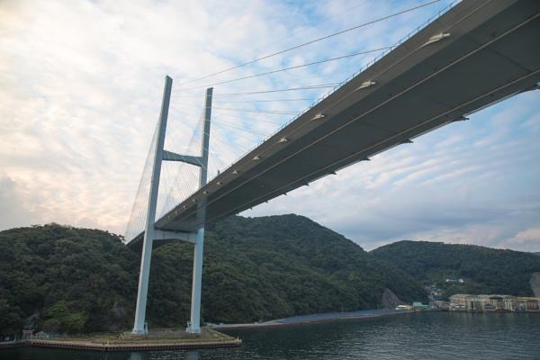 Megamio Bridge, Nagasaki, Japan by Trekmaster01