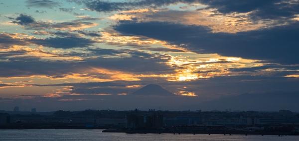 Mount Fuji Sunset by Trekmaster01