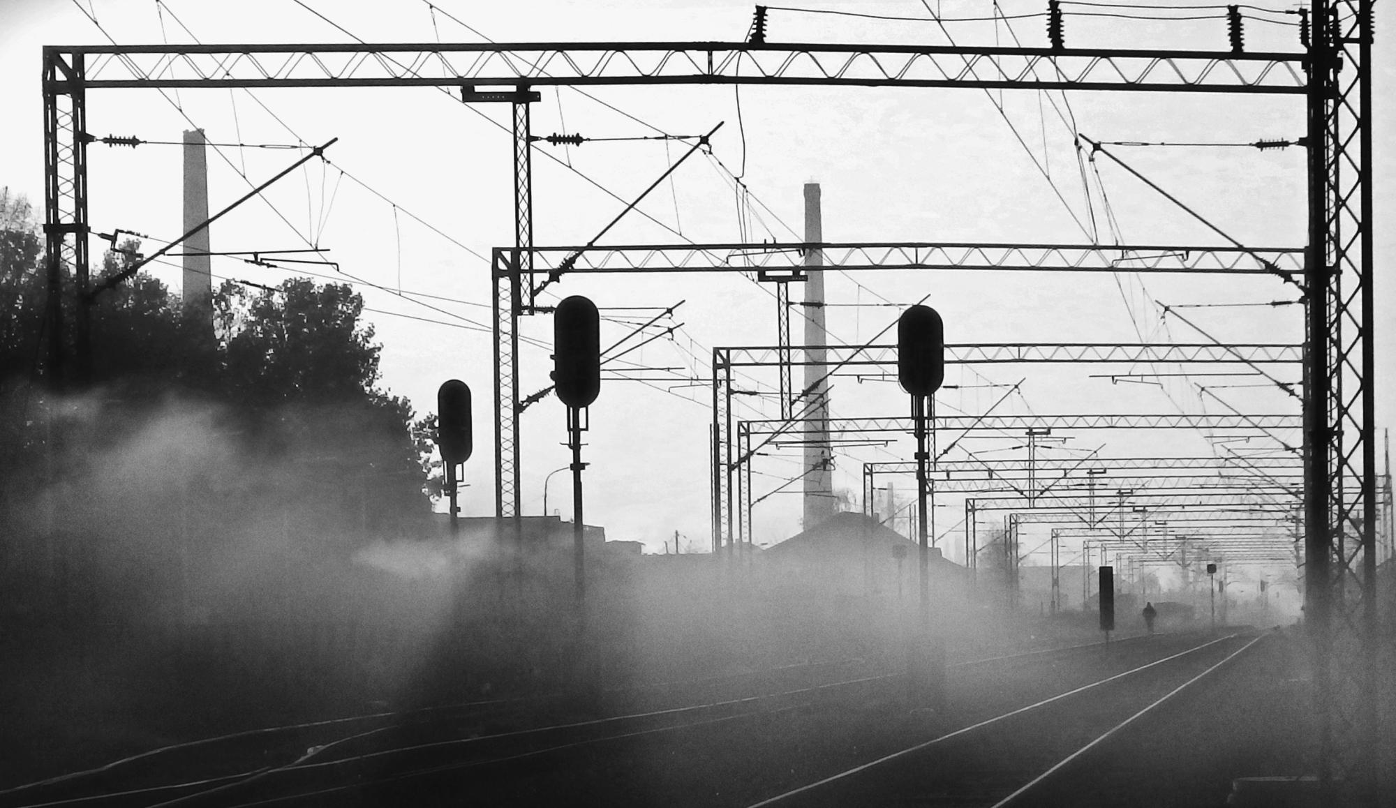 Walking among lines