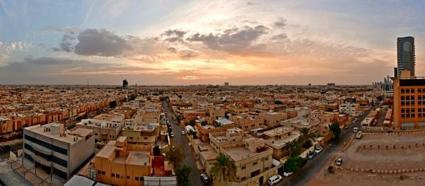 Panoramic city 1 by Savvas511