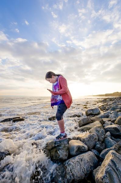 Beach Portrait by cardiffgareth
