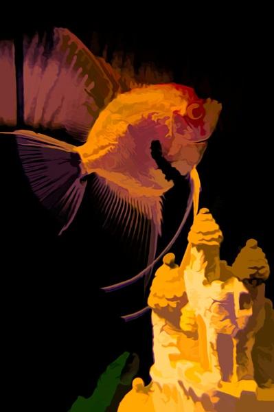 Golden Angel by Joline