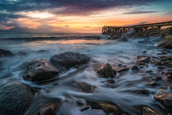 Ayrshire Sunset by douglasR