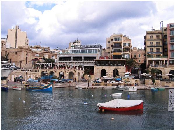 "\"" Saint Julian\'s Bay Malta \"" by badgerwil70"