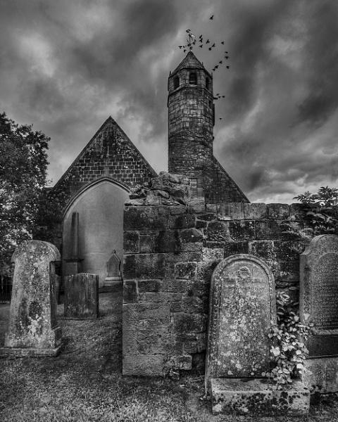 St Brides Church by AndrewAlbert